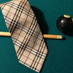 Vintage Burberry Nova Check Tie